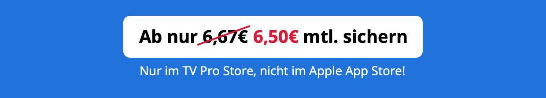 Ab 6,50€ mtl. (statt 6,67€)