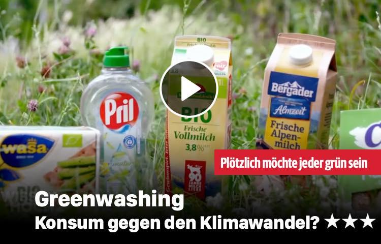 Greenwashing - Konsum gegen Klimawandel?