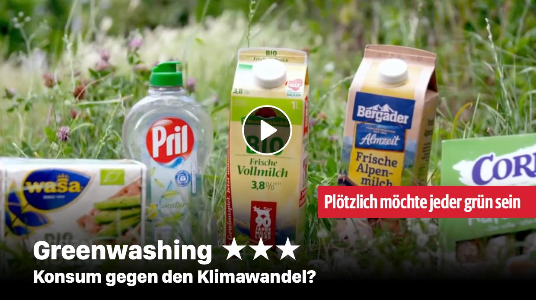 Greenwashing - Konsum gegen den Klimawandel?