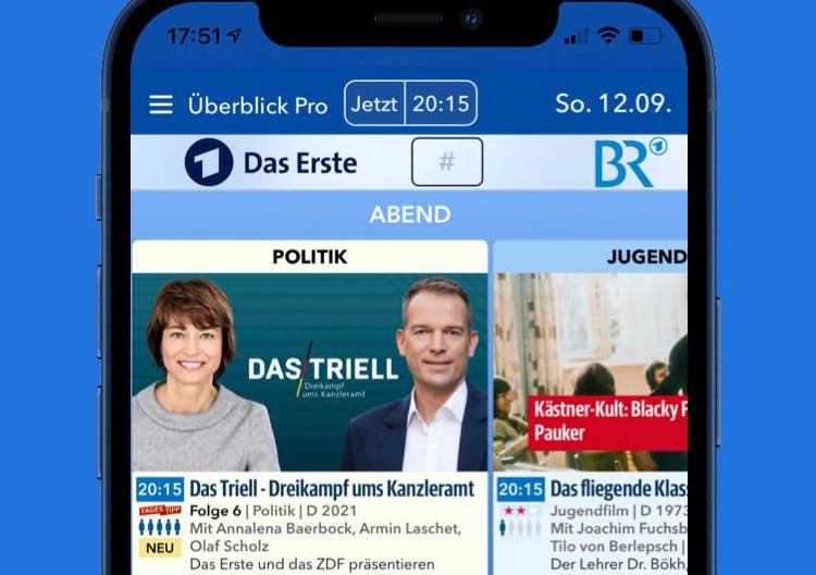 Überblick Pro in TV Pro
