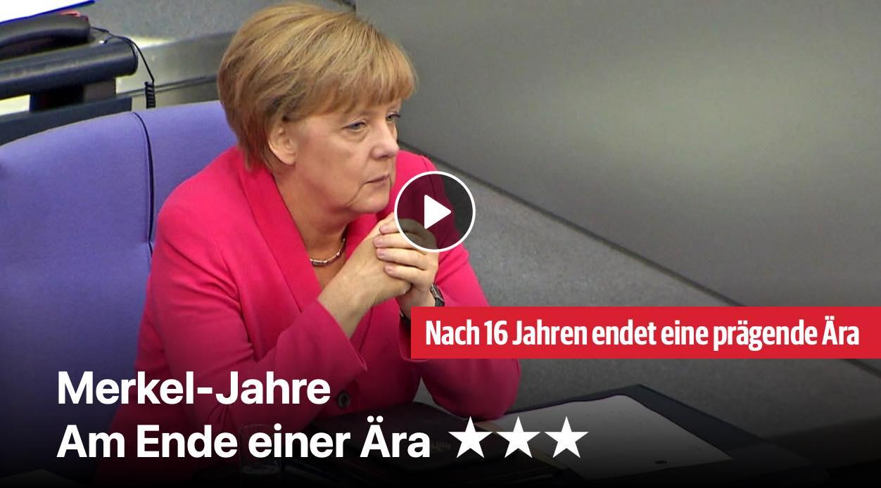 Merkel-Jahre: Am Ende einer Ära