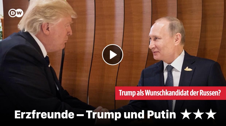 Erzfreunde - Trump und Putin