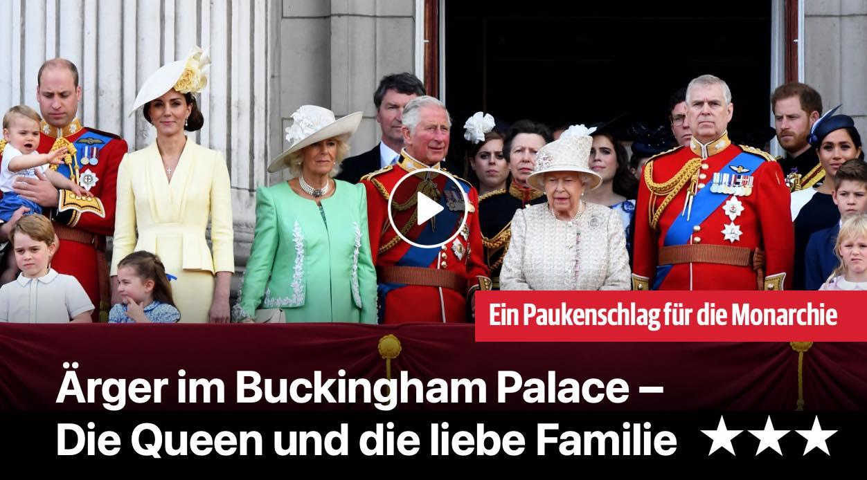 Ärger im Buckingham Palace