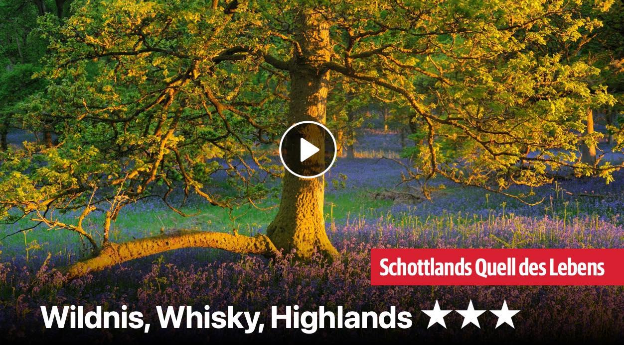 Wildnis, Whisky, Highlands
