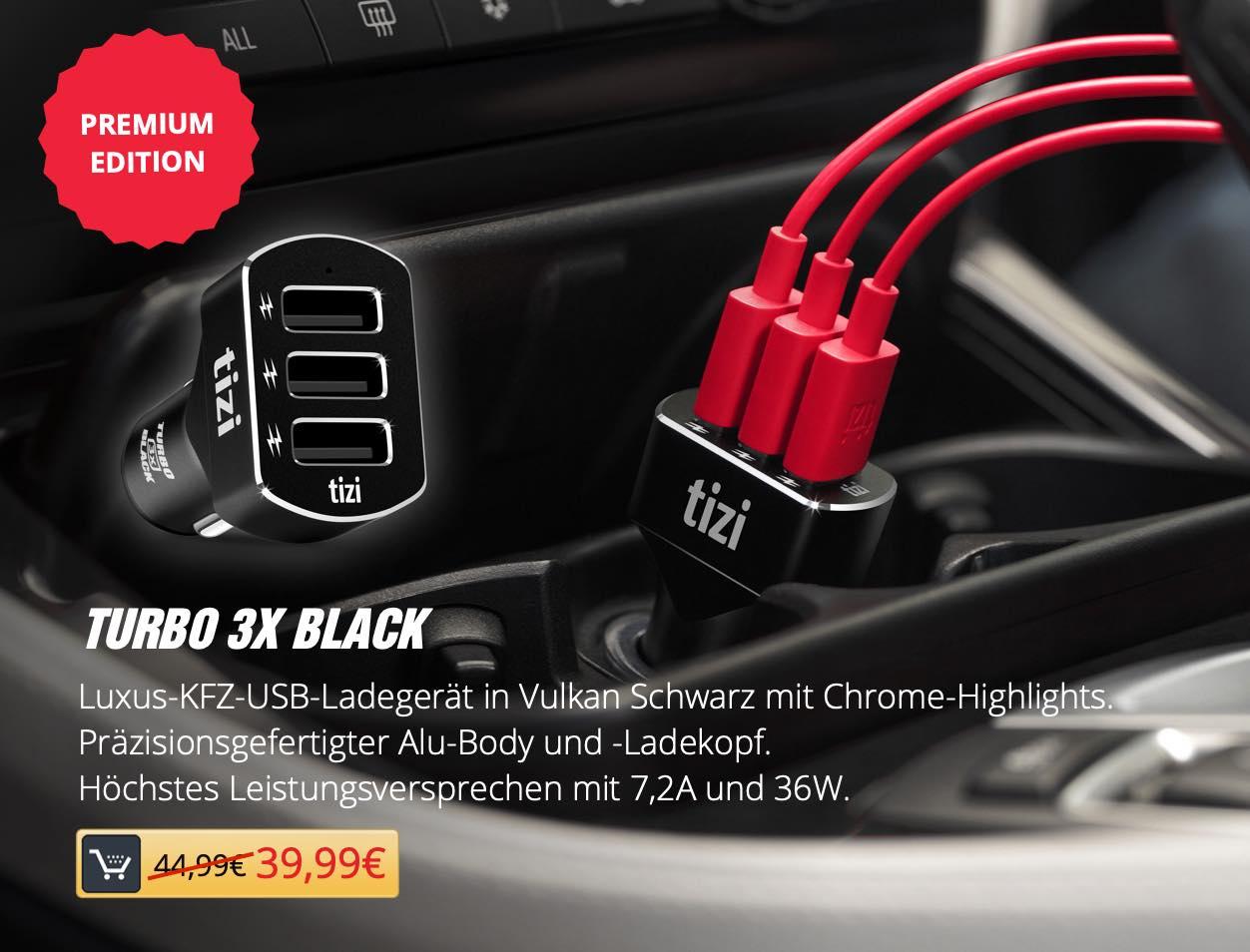 tizi Turbo 3x BLACK