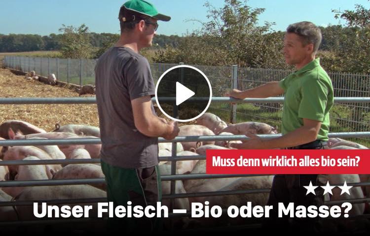 Unser Fleisch – Bio oder Masse?