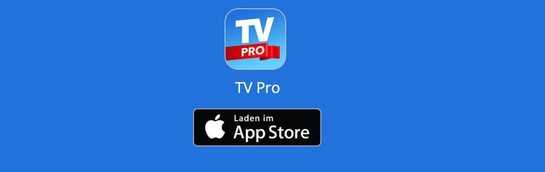 TV Pro im App Store laden