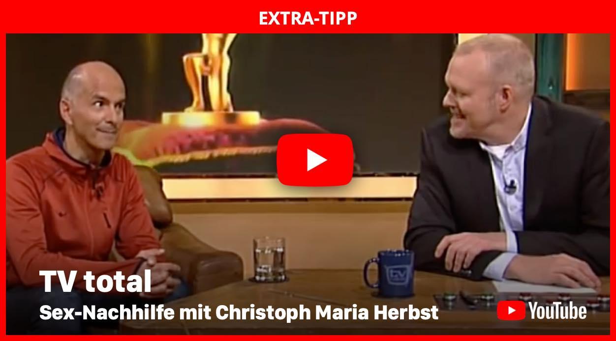 TV total - Sex-Nachhilfe mit C. M. Herbst