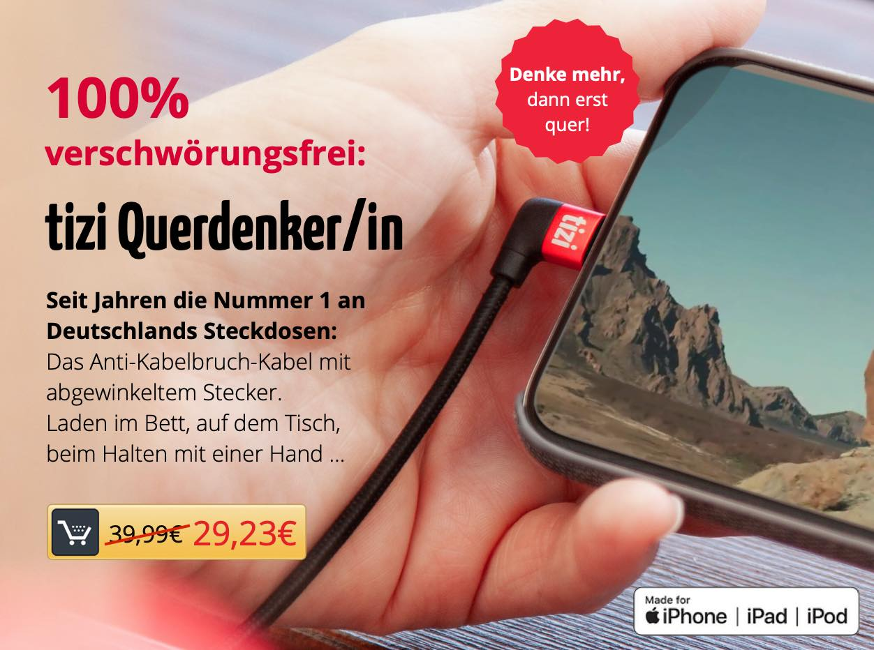 tizi Querdenker/in: 100% verschwörungsfrei