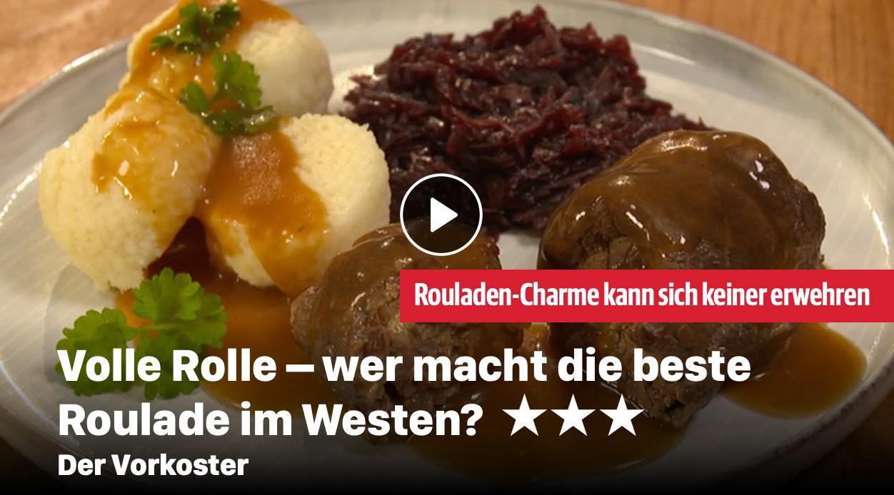 Wer macht die beste Roulade im Westen?