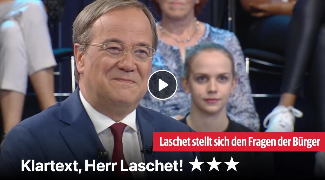 Klartext, Herr Laschet!