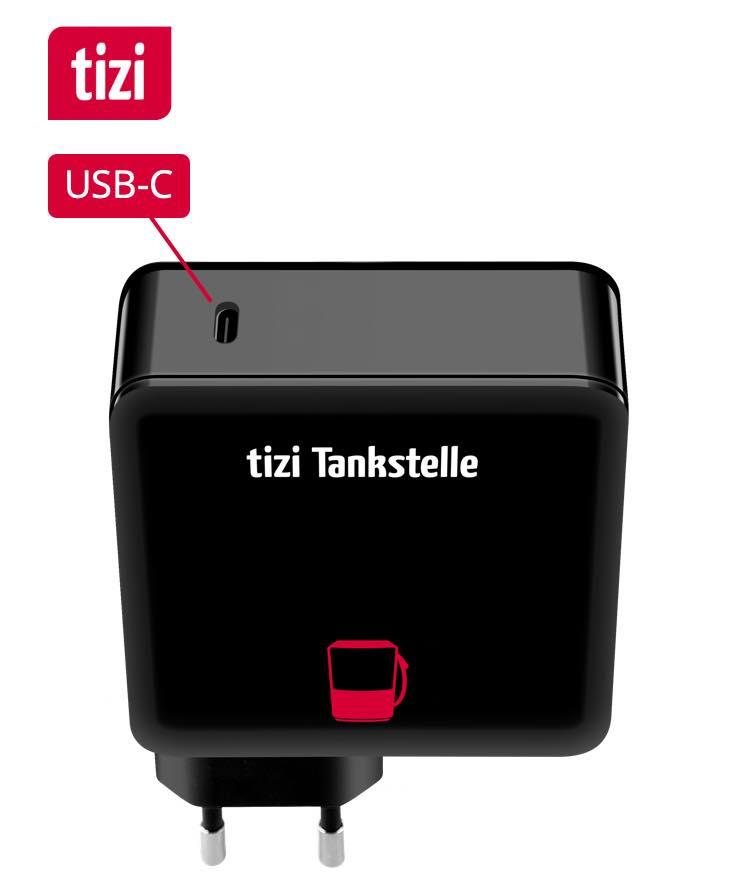 tizi Tankstelle USB-C (60W)