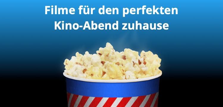 Filme für den perfekten Kino-Abend zuhause