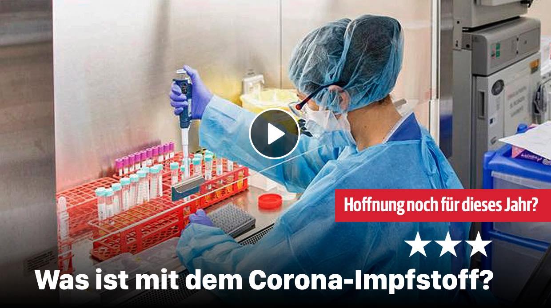Was ist mit dem Corona-Impfstoff?
